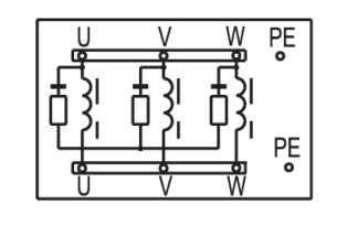 Дроссель (LCR) схема